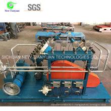 Compresseur de diaphragme à gaz argon pour compression de gaz à haute pureté