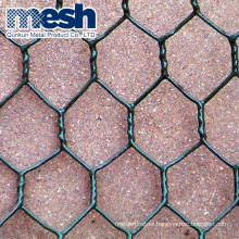 Hexagonal poultry netting wire mesh with pvc coated