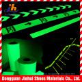 Película fotoluminiscente adhesiva de cinta de seguridad de la escalera