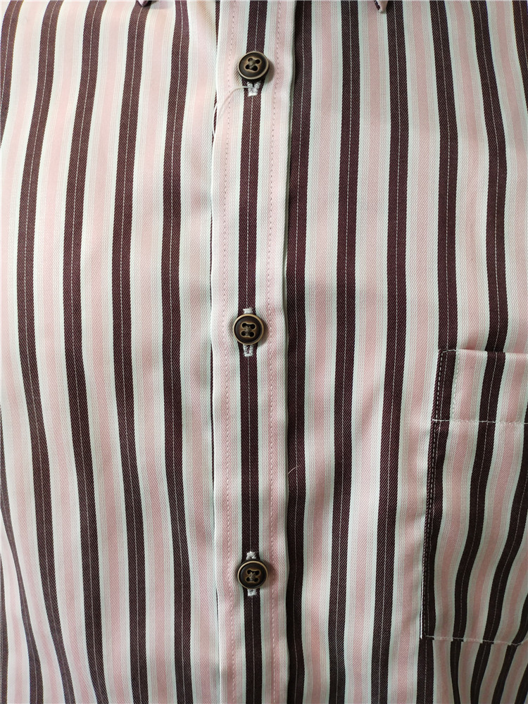 Vertical Striped Shirt Mens