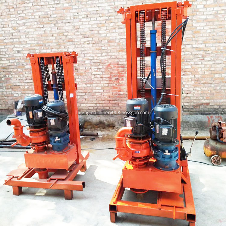Folded Water Well Drilling Rig