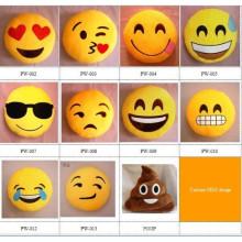 Großhandel billig niedlichen emoji Kissen benutzerdefinierte Plüsch Emoji Kissen