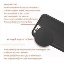 Anti-Gravity Selfie Case para iPhone7 / 6 / 6s de 4.7 pulgadas con Magical Nano Sticky puede pegarse a vidrio, espejos, pizarras, metal, gabinetes de cocina o azulejos, GPS para automóviles,