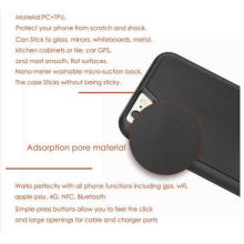 Антигравитационные случае Селфи для iphone7 в/ 6/6с 4.7-дюймовый с магическими Нано липкие можете придерживаться стекло, зеркала, доски, металл, Кухонные шкафы или плитка, Автомобильный GPS,