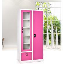 cheap multi function school metal clothes locker