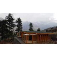 Быстрая установка сборного деревянного дома