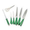 Conjunto de faca de cozinha de aço inoxidável de 8 peças