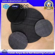 CE и SGS маркирует ткань черного железа сплетенную