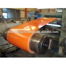 galvanizado / coloreado recubierto bobinas de acero laminado