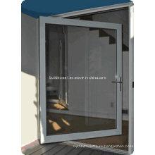 Двойные стеклопакеты Алюминиевые сводные двери