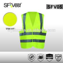 EN ISO 20471 новый стиль безопасности защитная одежда 100% полиэстер hi vis жилет безопасности светоотражающая одежда
