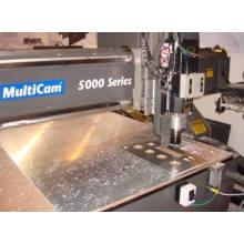 Алюминия CNC токарный станок Механическая точность повернула части