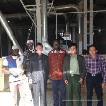 100 T / D haute qualité usine de riz parboiled riz machine