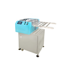 Silicone rubber solid material sheet cutting machine