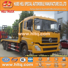 DONGFENG DFL 6X4 pedrail machine transport truck 260hp 22tons load hot sale cheap price made in China.