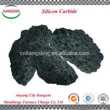 Moissanite green silicon carbide lump