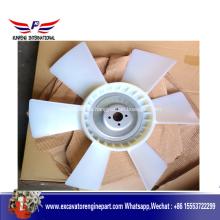 Ventilador de enfriamiento de parte del motor Isuzu 6BGI 1136603370