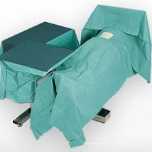 Cortinas quirúrgicas Uso Spunlace tela no tejida muy transpirable