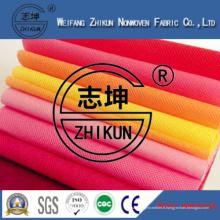 Tissu non-tissé de Spunbond de pp pour le bricolage (20GSM-200gms)