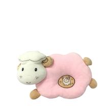 Plush Sheep Baby Pillow Pink