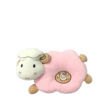 Plüsch-Schaf-Baby-Kissen-Rosa