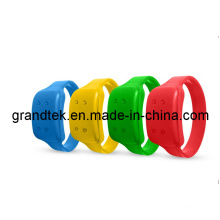 Bracelets promotionnels en caoutchouc anti moustique pour les enfants