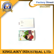 Popular Promotional Gift PVC Laggage Tag with Customized Logo (LT-3)