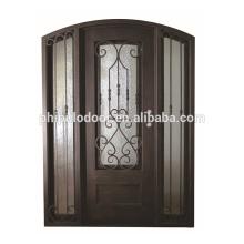 Nuevo estilo barato precio acero hierro diseño de una sola puerta
