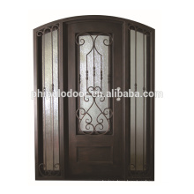 New style cheap price steel Iron single door design