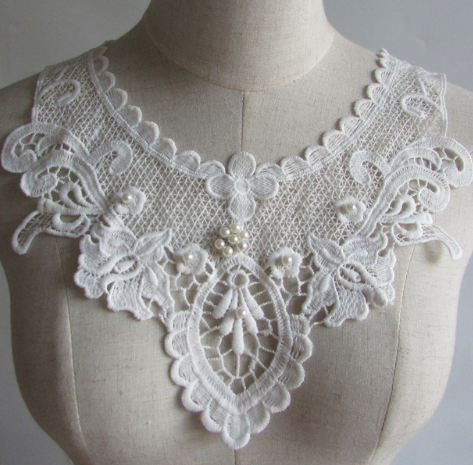 chemical embroidery lace