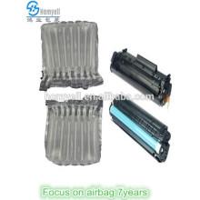 air cushion packaging for toner cartridge HP35A/36A/88A
