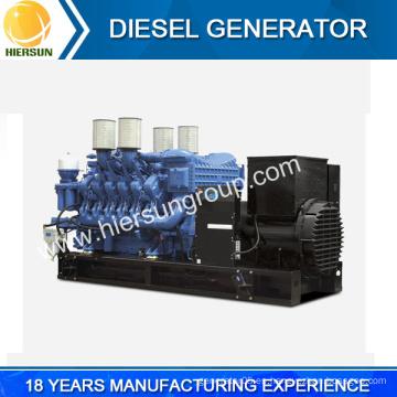 China fábrica 4160V, 11.000, 6600V, 13800Volts generador diesel de alta tensión