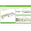 """""""S"""" Track+Spiral Screw and with Back Lift Function Adjustable Thermal Massage Bed with Lifter"""