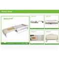 """""""S"""" Track + Spiral Screw e com Função Back Lift Adjustable Thermal Massage Bed com Levantador"""