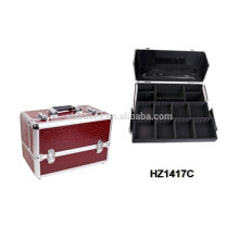 professional aluminum cosmetic case with trays inside HZ1417C