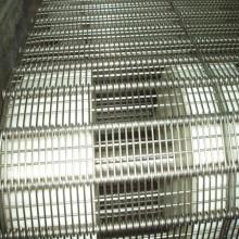 Acier inoxydable Chain Link Wire Mesh Conveyor Belt