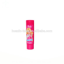 Tubos de embalagens plásticas de metal rosa bonito bebê lavar o rosto tubo bpa livre de cosméticos