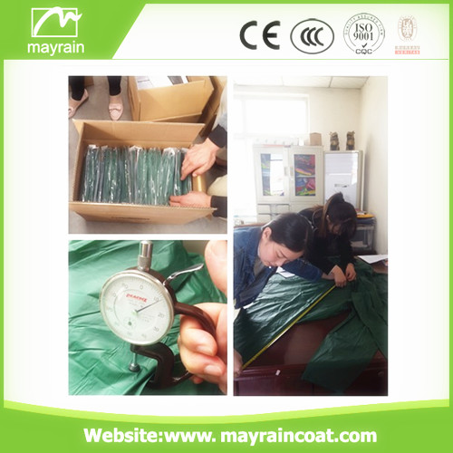 Disposable Raincoat for Promotion