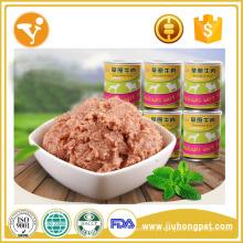 Fornecedores da China Alimento molhado para deleites para cães Alimentos para cães enlatados naturais