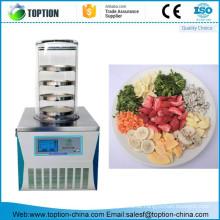 China mini kleine Vakuumnahrung gefrieren Trockner lyophilizer Maschine für Haus / Labor im Verkauf