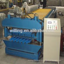 Рулонная машина для стен и кровельного листа в Китае