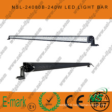 Barre lumineuse LED 80PCS * 3W 42 pouces, barre lumineuse LED Spot/Flood/Combo pour camions