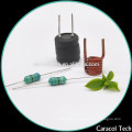 F146 1mh Variable coiled axial inductors