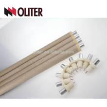 für Gießerei hotsale Typ s Einweg-Thermoelement mit Aluminium-Schlacke Kappe ptrh Draht und 604 Dreieck-Stecker