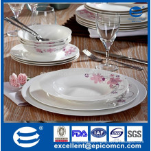 18pcs personalized fine bone china porcelain dinner set