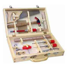 Wooden Toy Wooden Tool Box--12 PCS