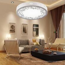 La lampe de plafond ronde en bois ronde la plus populaire de LED Tri-Color Dimming