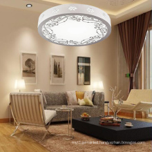 Most Popular Round Wooden LED Ceiling Lamp Tri-Color Dimming