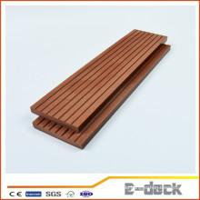 Hohe Dichte HDPE lange unsge lifeapan im Freien coextrusion wpc festes decking mit Qualität