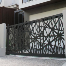Steel Laser Cut Gate and Fence